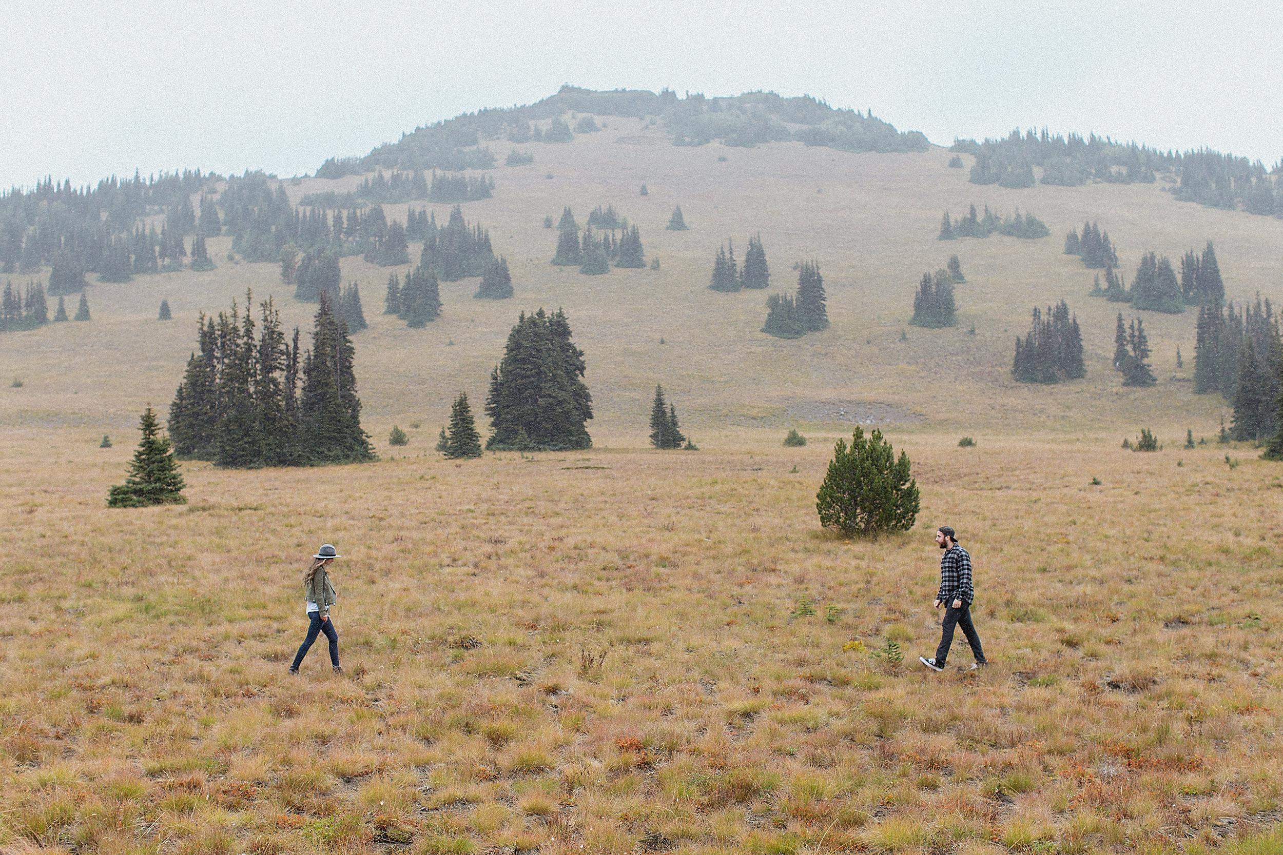 Mt. Rainier Engagement Photo Session