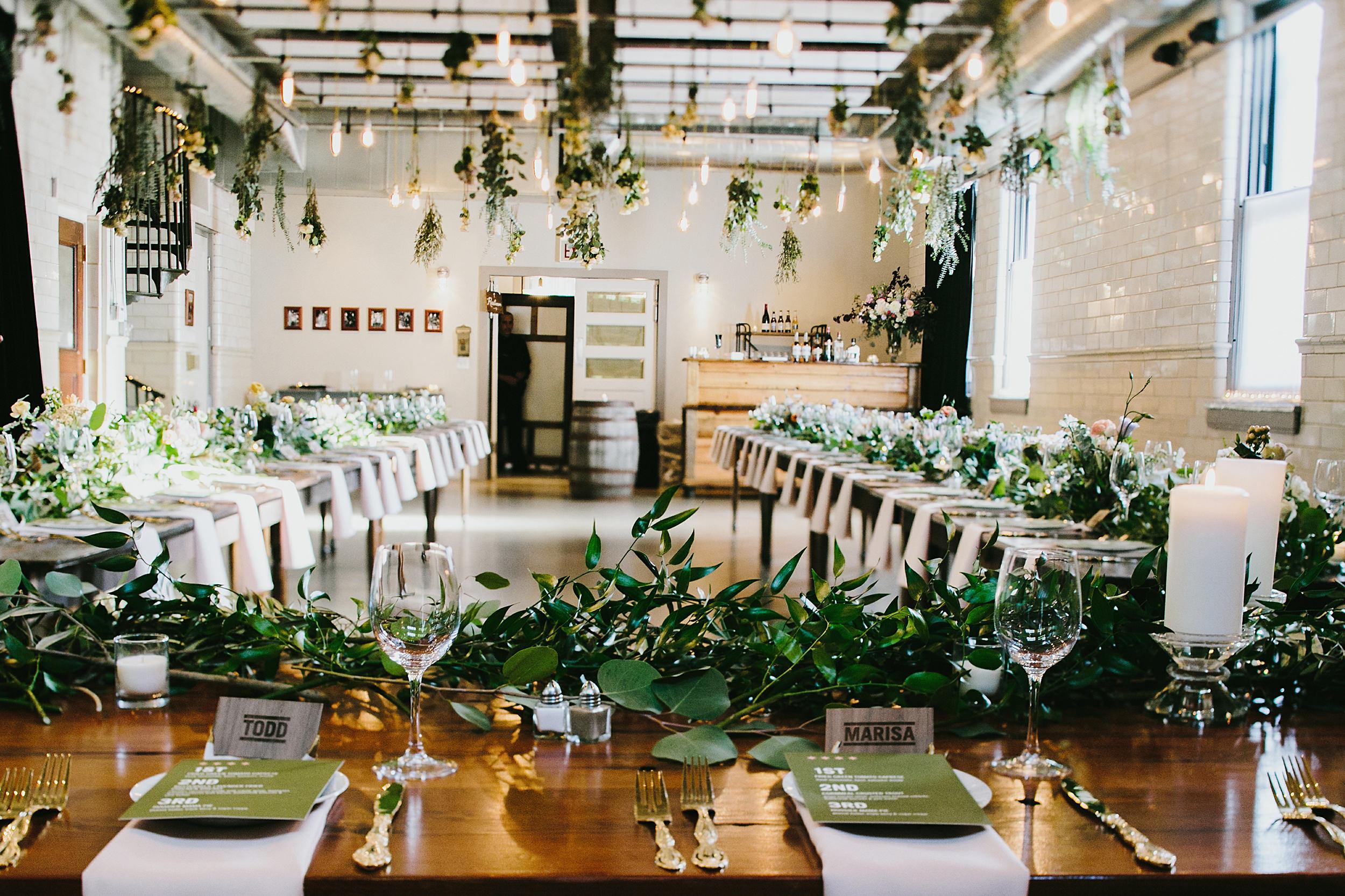 wedding florals by Asrai Garden