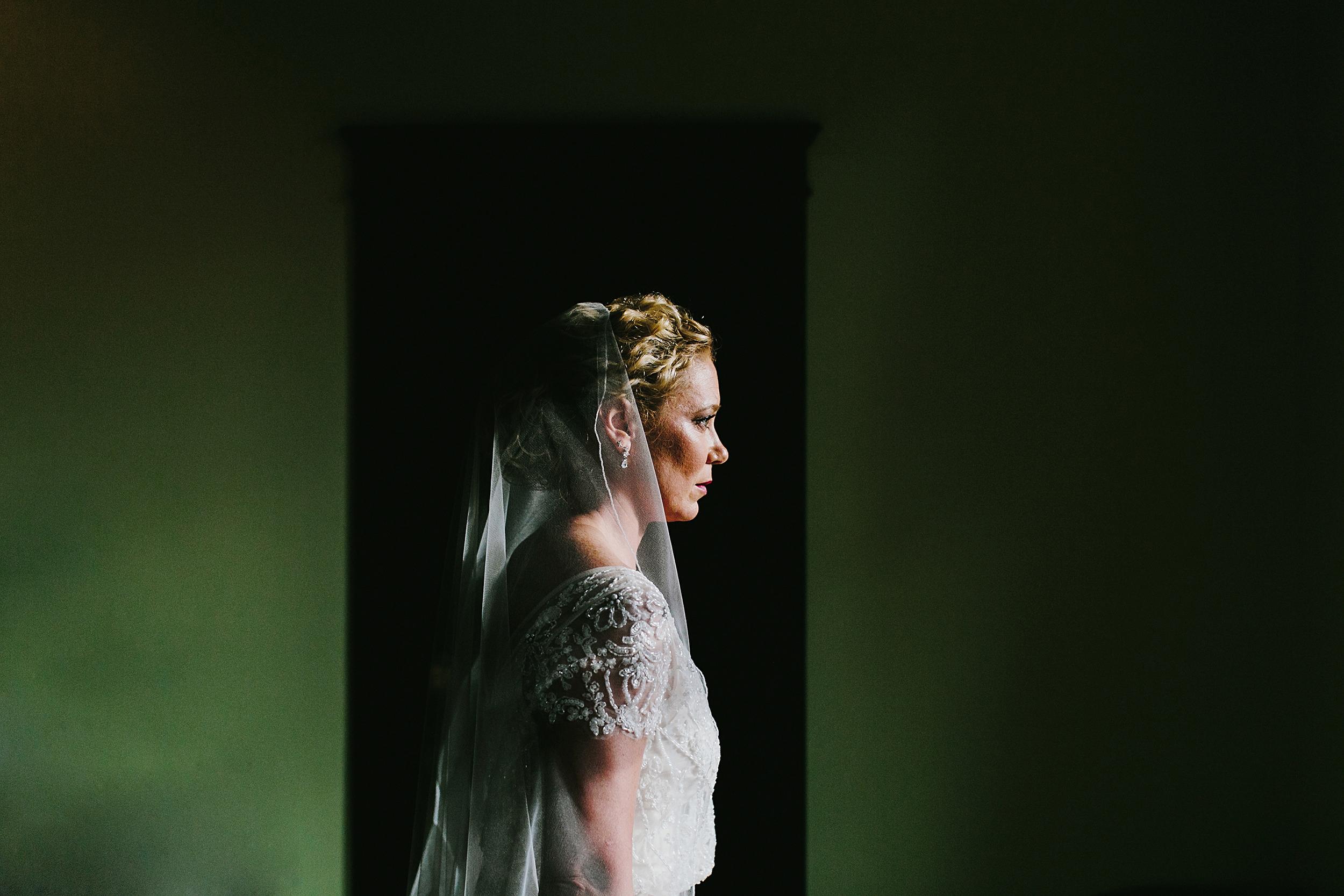 firehouse chicago bridal portrait