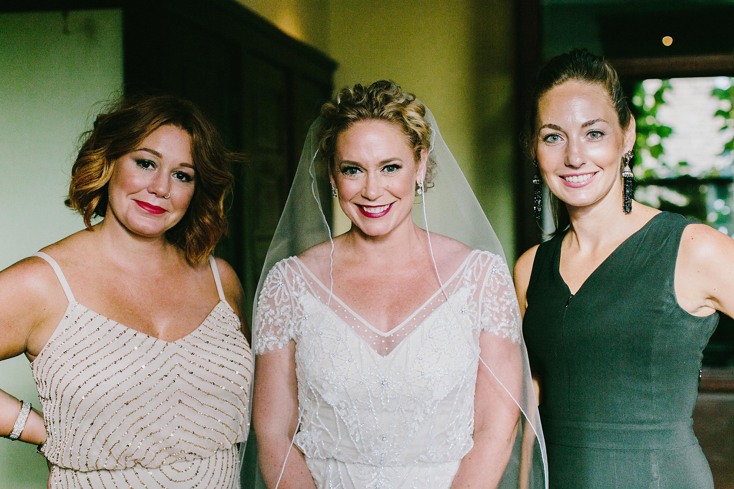 bride's possey