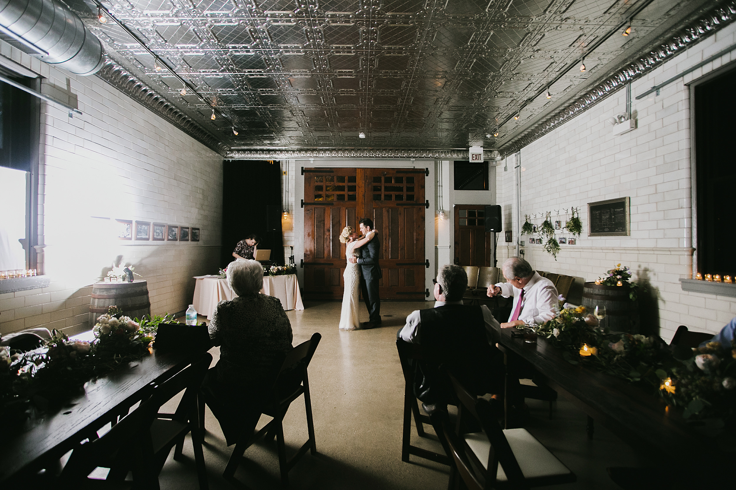 First dance at Firehouse Chicago