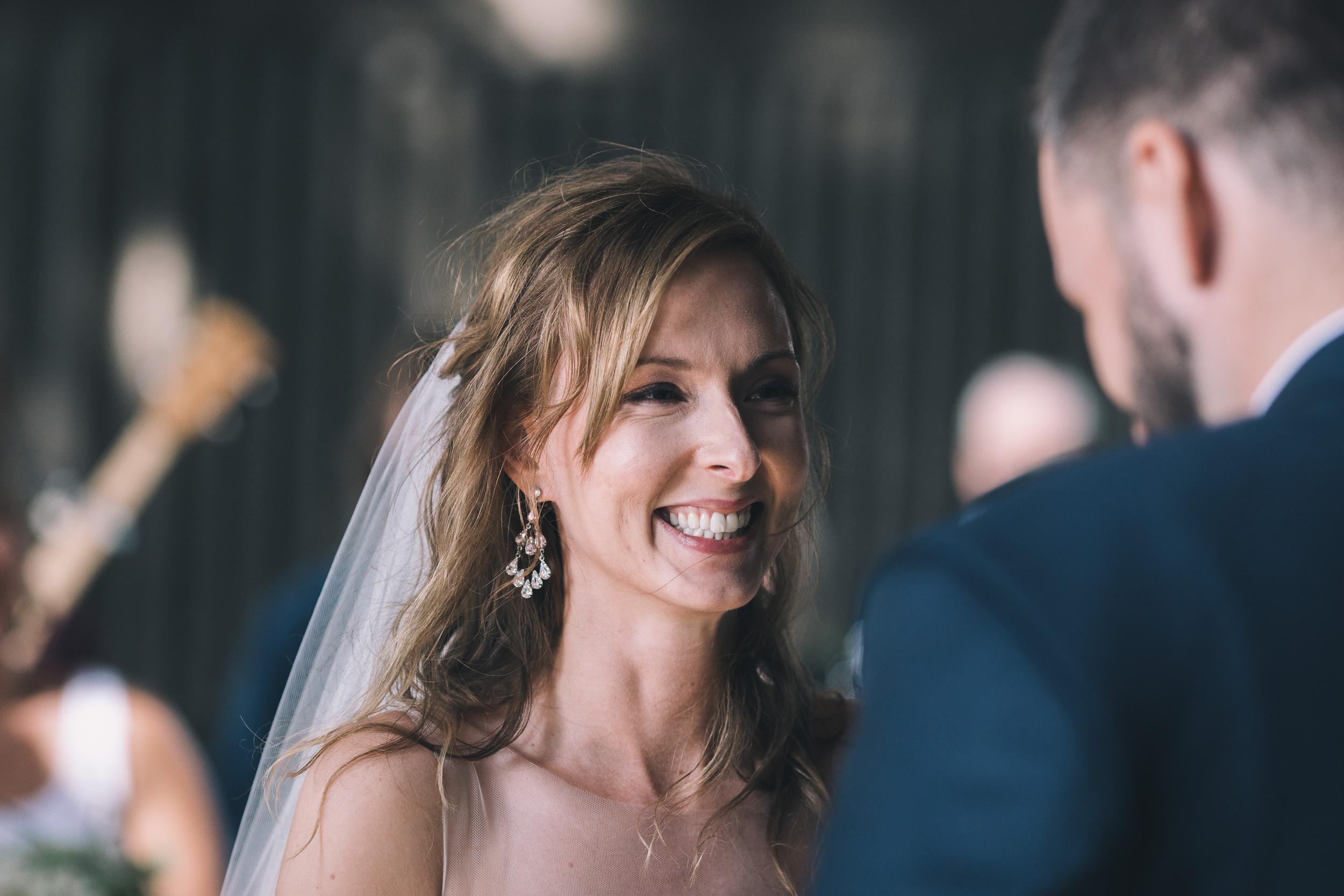 kitsap memorial state park bride smiling