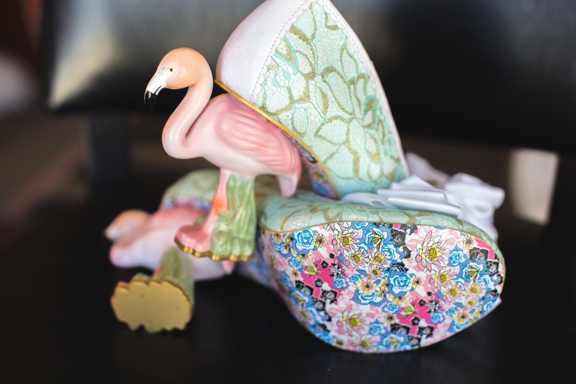 flamingo heels
