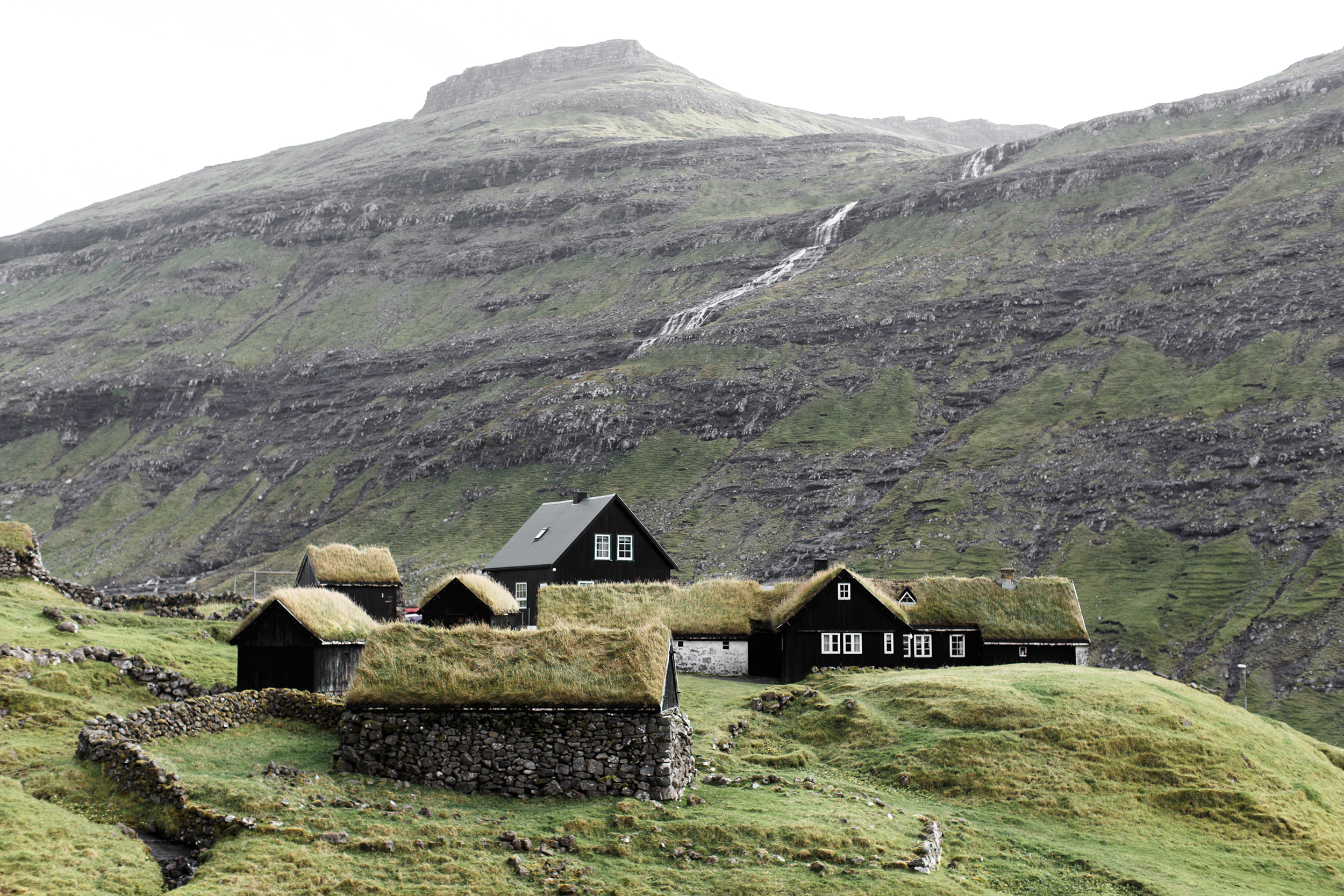 saksun town in the Faroe Islands