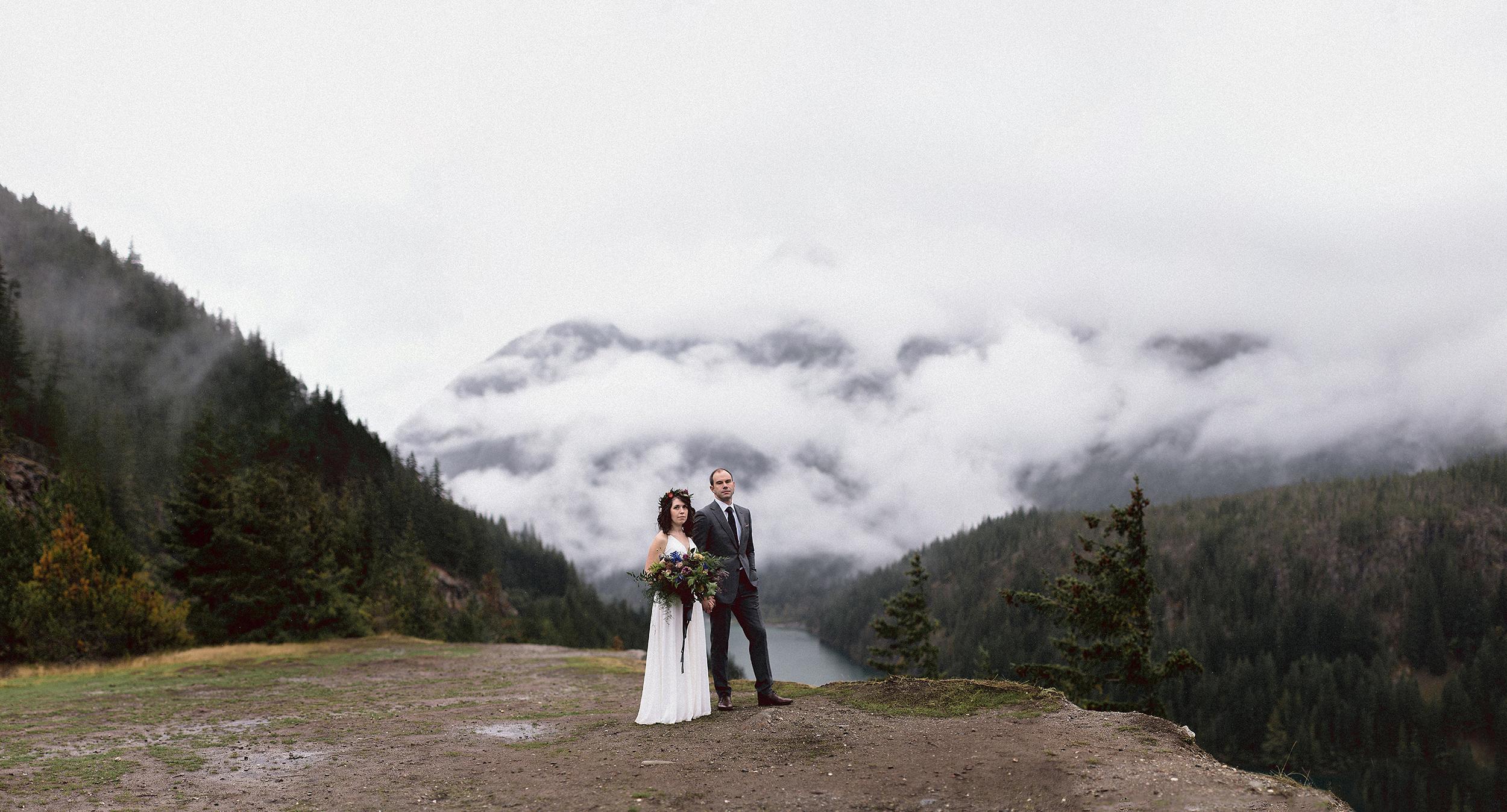 North Cascades National Park Diablo Lake Overlook