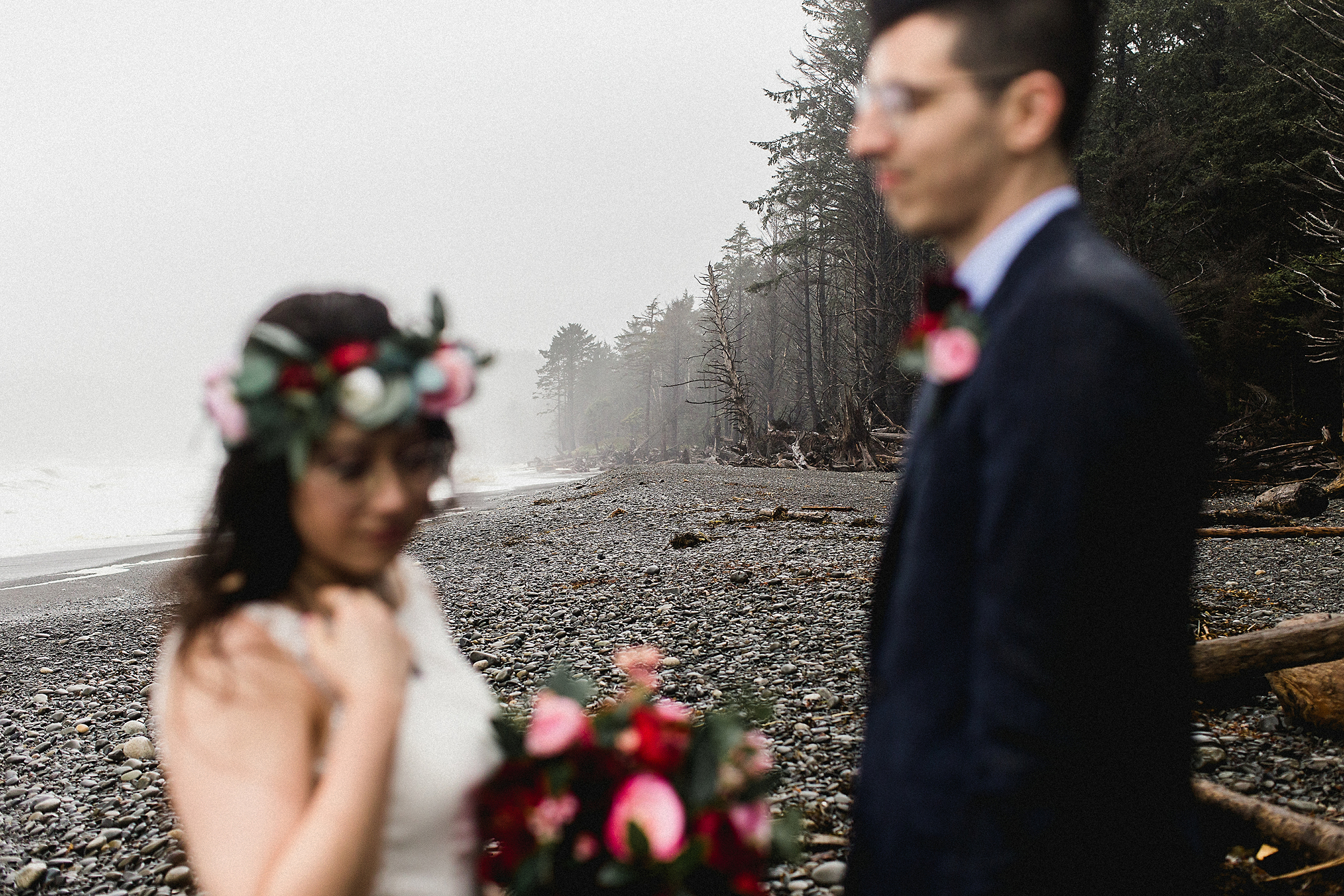 seattle bride and groom portraits