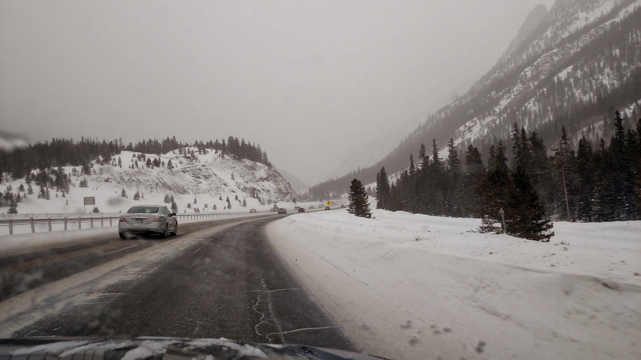 Photo: Highway I-70, Colorado