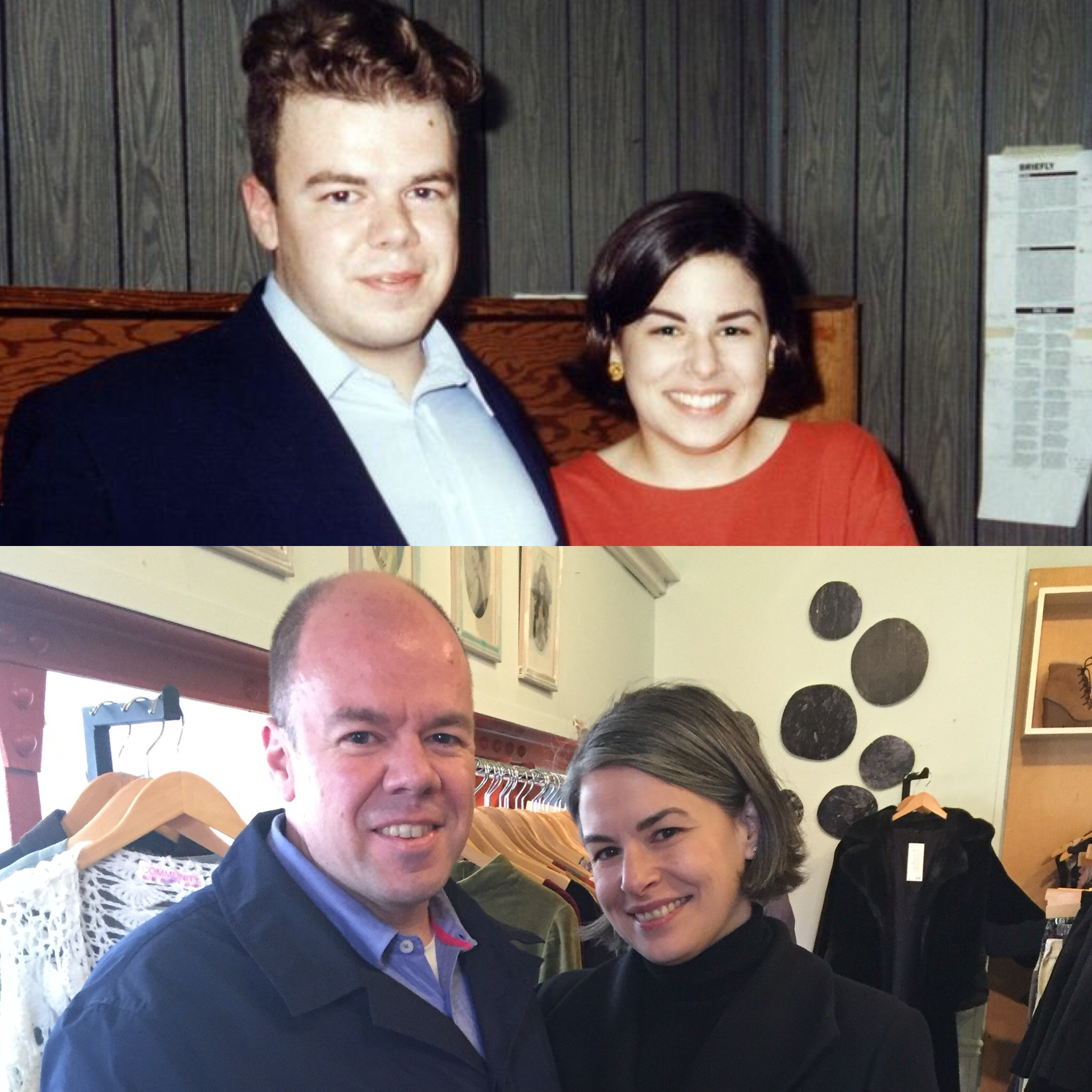 1994 and 2016 at the (now-former) office of the Red & Black, the student newspaper where we met.