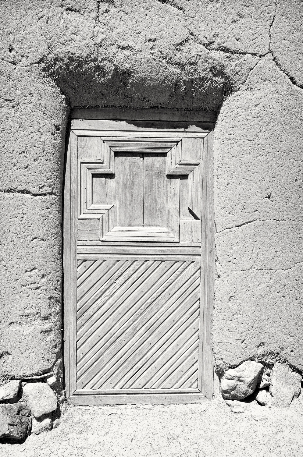 Door at Las Golandrinas, Santa Fe, New Mexico, 2013