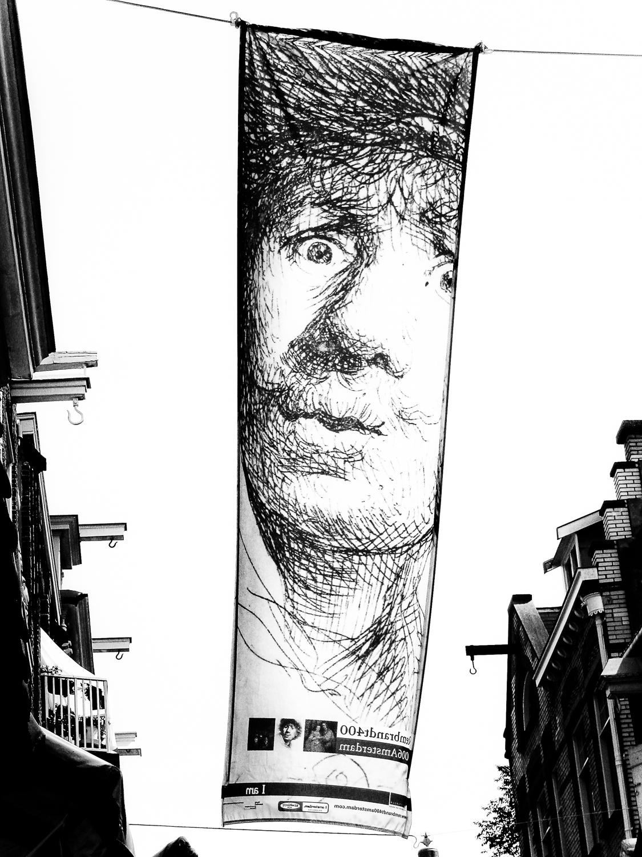 Street Banner, Amsterdam, 2005