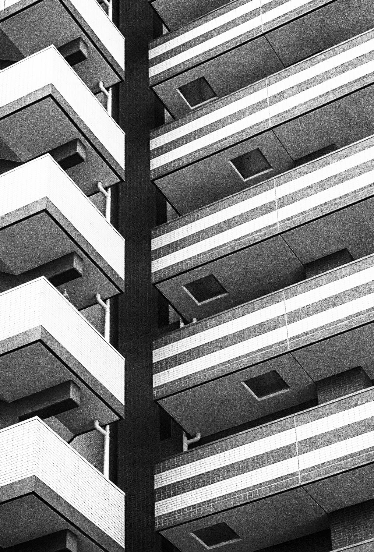 Apartment Building, Tokyo, 2014
