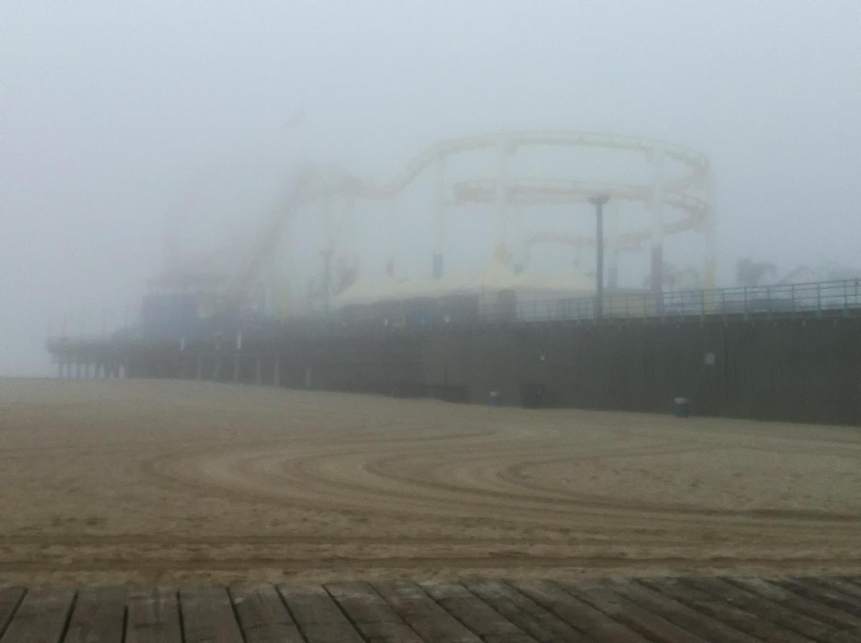 A Foggy Morning In Santa Monica, 2011-12.jpg