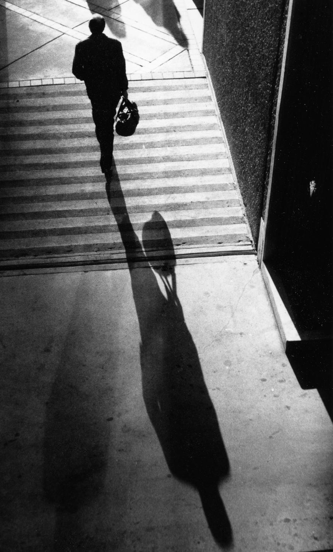 Man and Shadow, Denver, Colorado, 1988