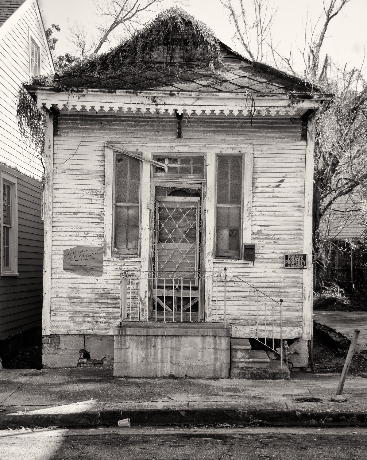 Abandoned House in Marigny, New Orleans, 2013