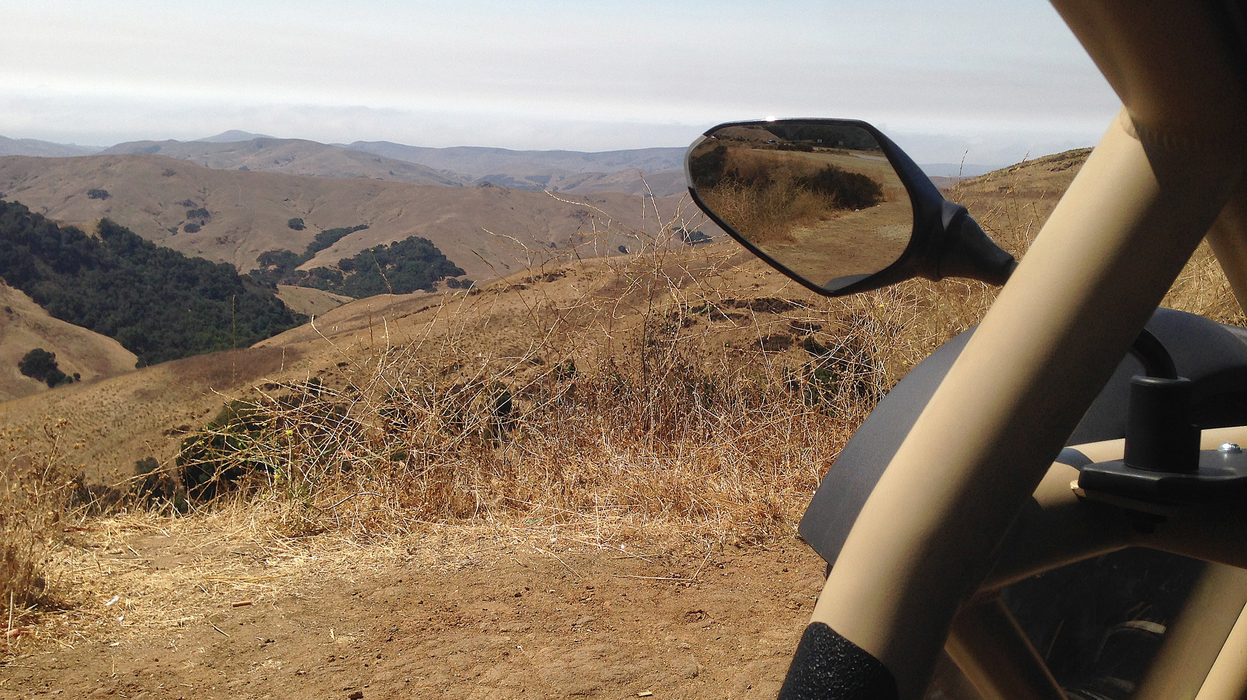 -Exploring dirt roads around Big Sur, California in the Ariel Nomad Tactical