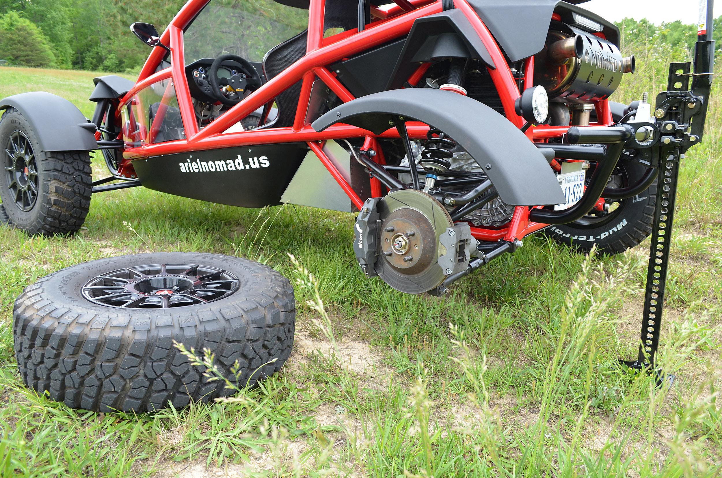 4: Perform repair and reverse instructions to get back to having fun with your Ariel Nomad.
