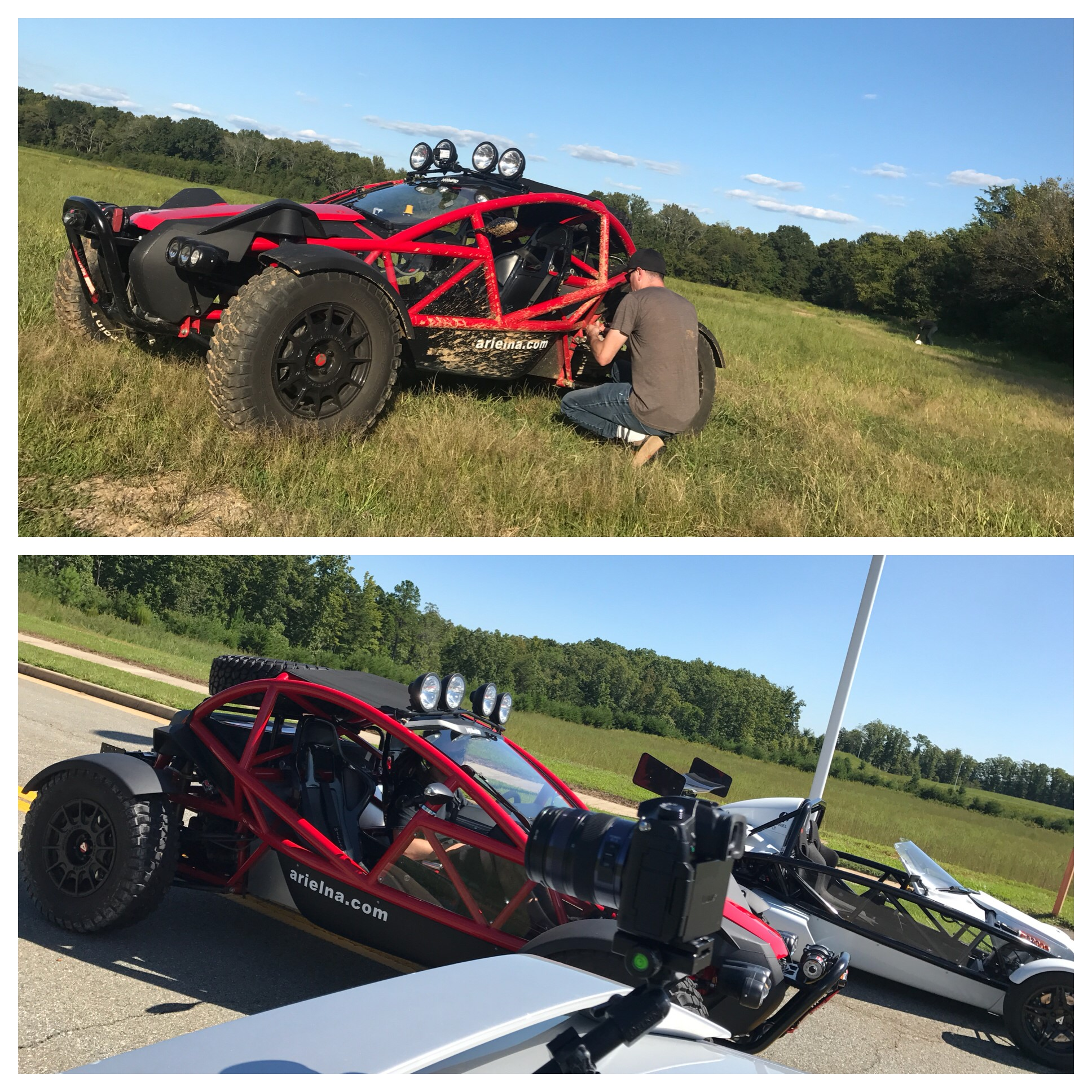 September, 2017 - SavageGeese reviews the Ariel Nomad.  Check it out here