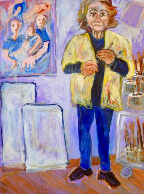 Artist Bonnie Heller