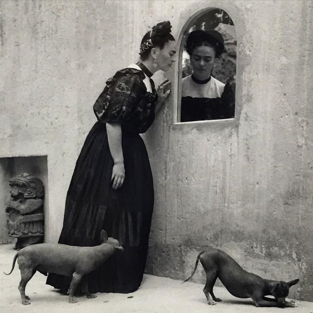 LolaAlvarezBravo-Frida-Looking-into-Mirror-with-Dogs-1944-in-ThrockmortonFineArt-FridaKahlo-portrait.jpg