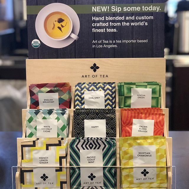 Cozy up with two new tea collections proudly offered by #VeroCoffeeAndGelato. 😊 @artofteala @twoleavestea #teatime #artoftea #twoleaves #drinktea #teadrinker #mymarianos