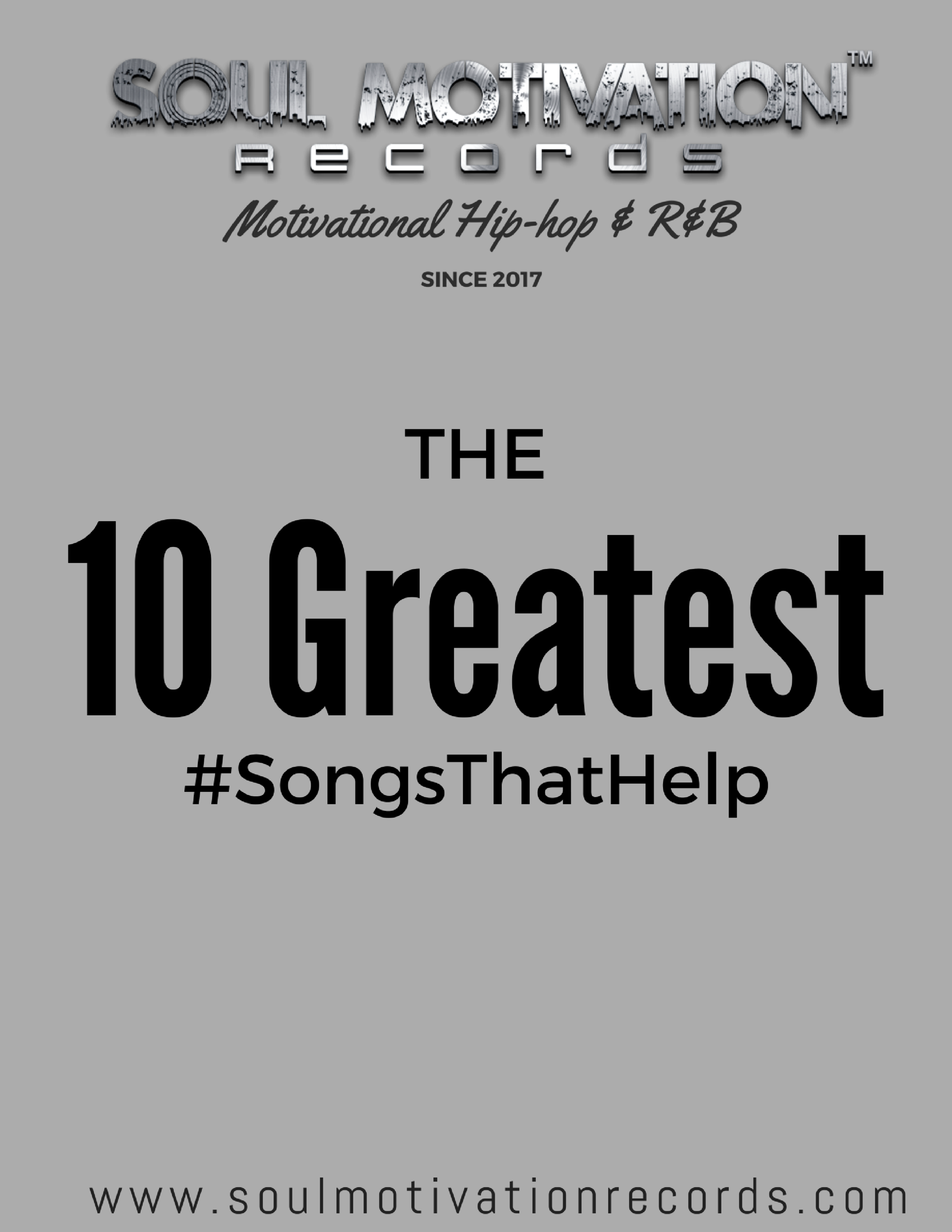 Get your FREE PDF of the 10 Greatest Songs That Help! - Just enter your name and email and get instant access to our carefully cultivated list of songs that are designed to inspire and uplift you! Keep this PDF handy and always have the power of music at your fingertips!