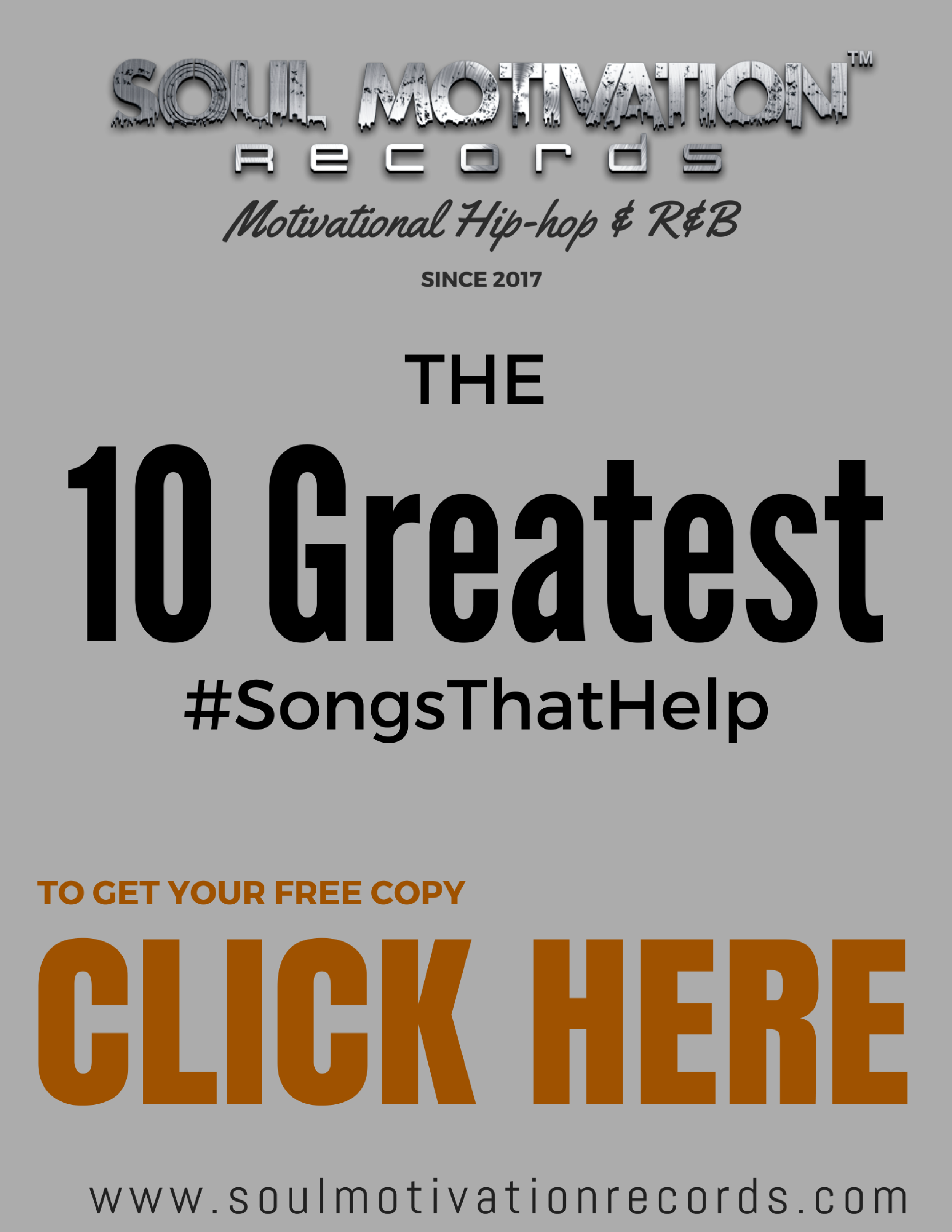 1o Greatest Songs That Help