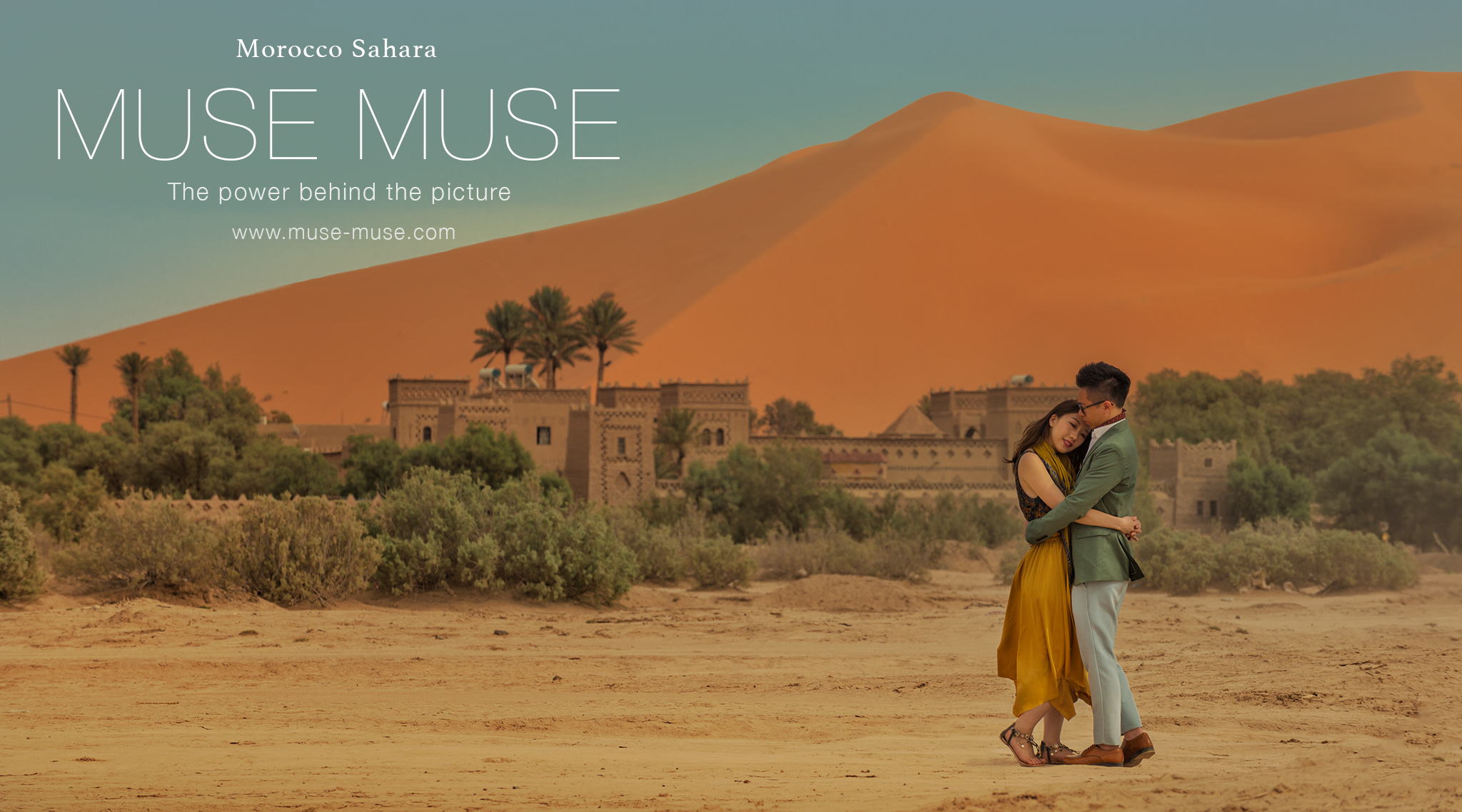 Muse Blog Updated :  Elsa & Danny Morocco Sahara Pre-Wedding ( 2017 Oct 16-18 )