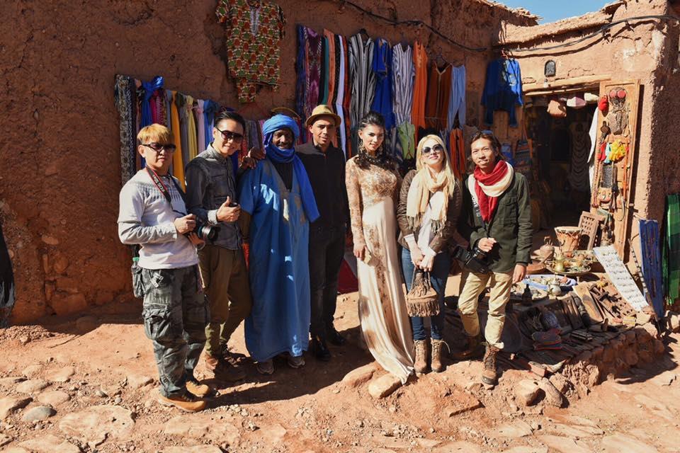 Muse Chan 撒哈拉沙漠個人創作之旅