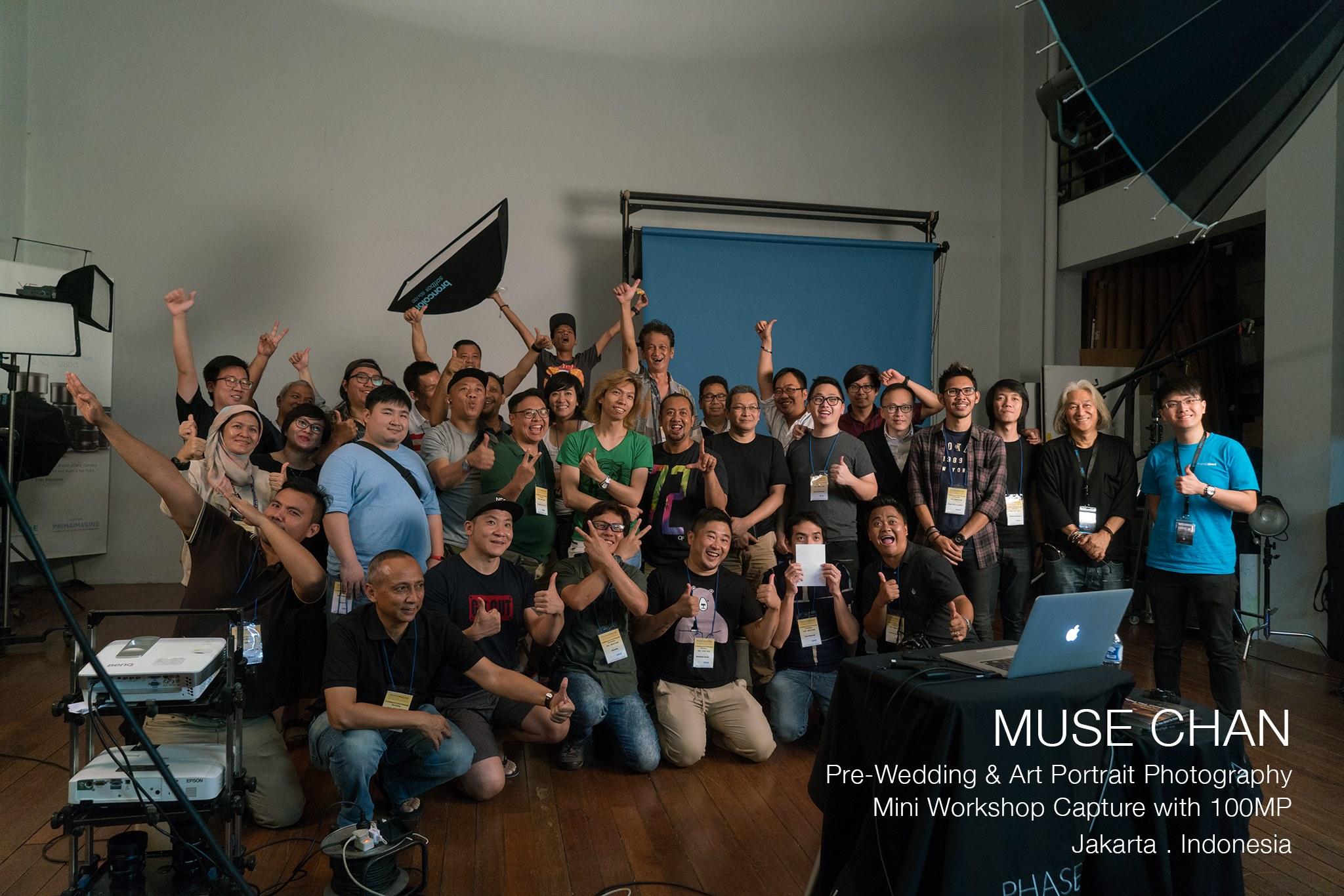 Muse Chan Photography Workshop - Jakarta