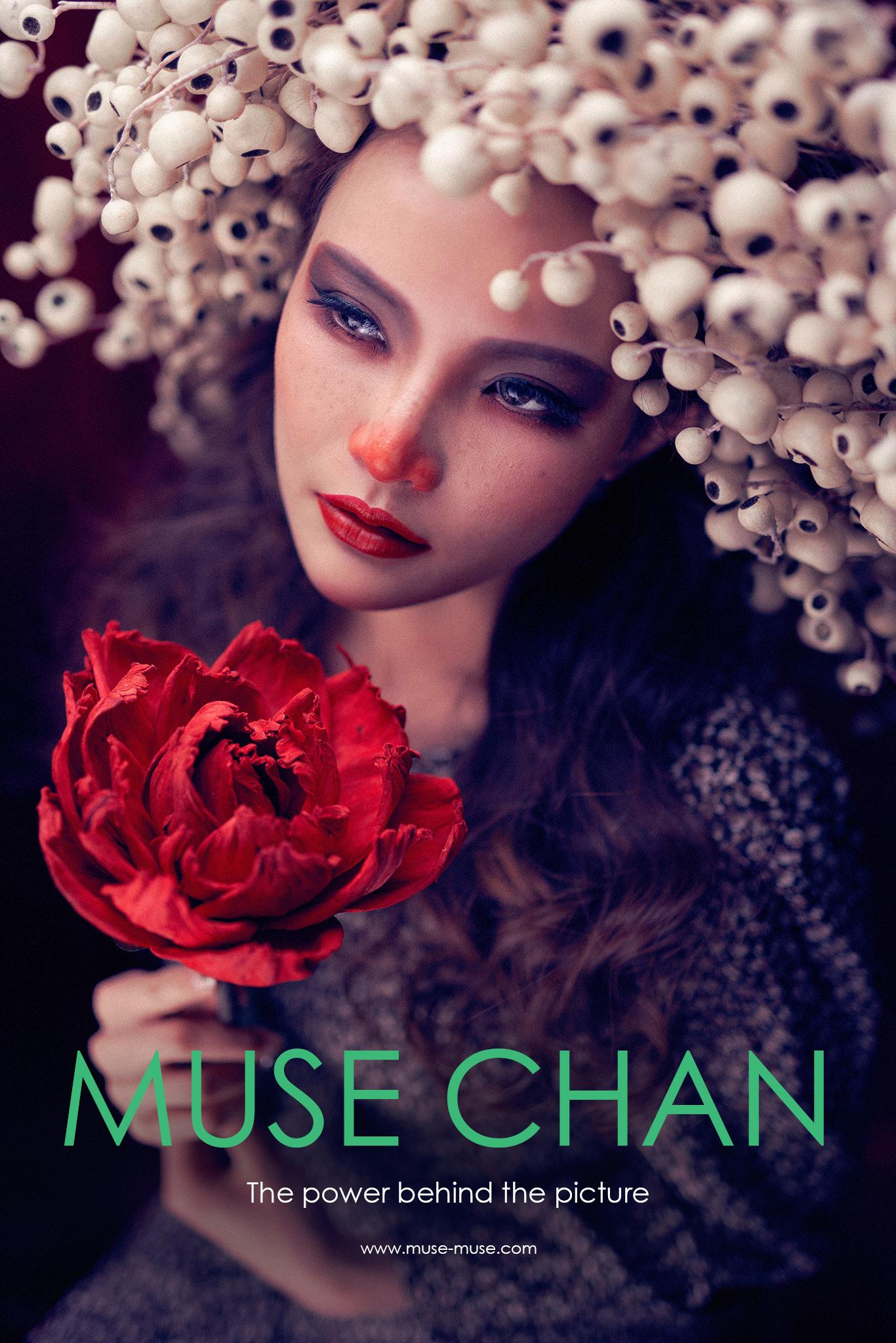 攝影師 Muse Chan 今年拍攝聖誕元素及色彩作作主題的個人創作作品,