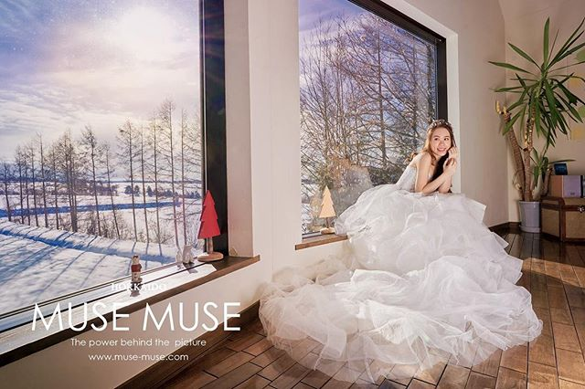 Hokkaido Love ~ Josefina. & Terrence 北海道的民宿拍攝,很美啊!  Booking & enquiry:  Email: info@muse-muse.com Whatsapp : (+852)9361-3891 Website: www.muse-muse.com  #musemuse #musechan #北海道婚紗 #preweddingphoto #preweddingshoot #prewedding #北海道婚紗攝影