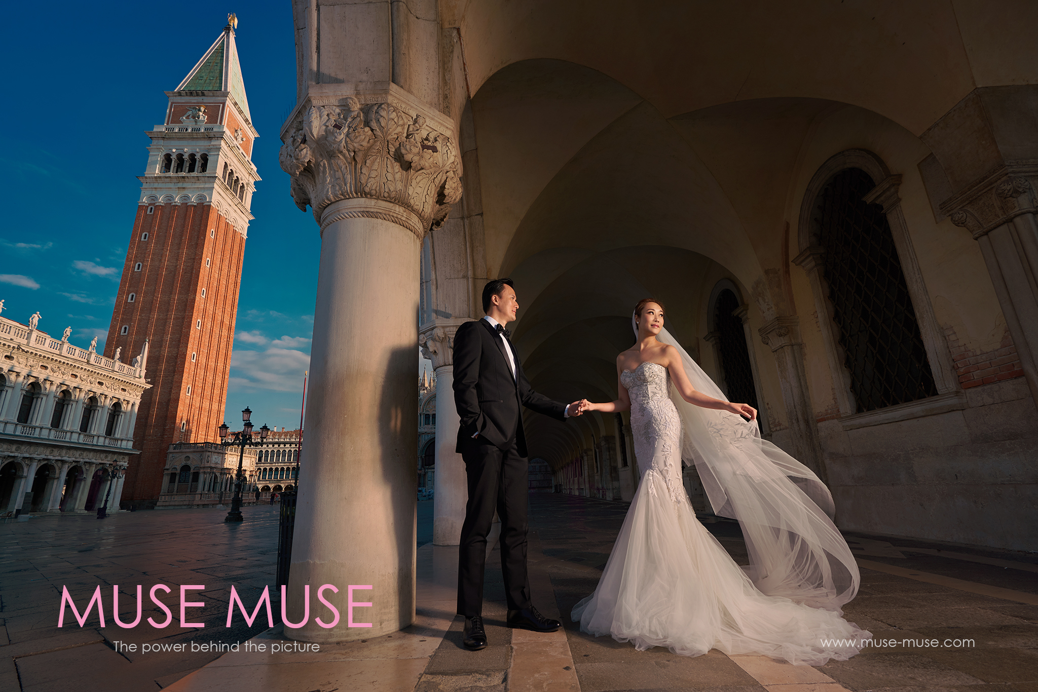 Nicole & David Venice Pre-Wedding