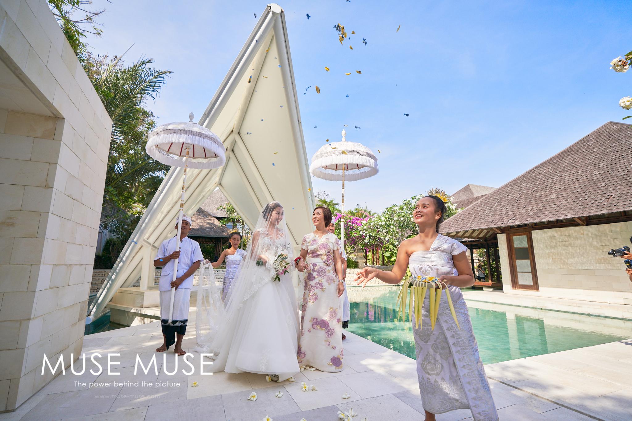 Joyce & Brian Bali Wedding 峇里島婚禮