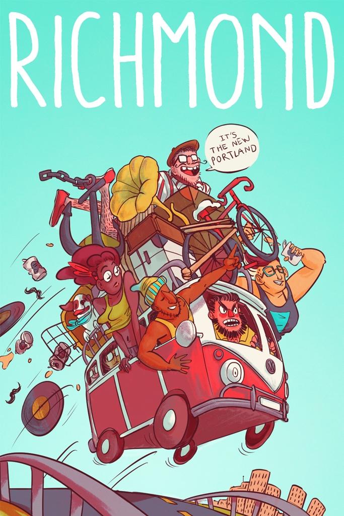 - Richmond Postcards for Ink Magazine