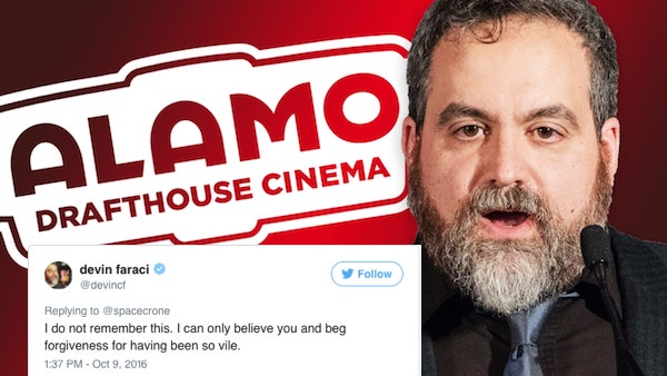 """Faraci's response to his accuser, who he supposedly grabbed against her will before asking friends to """"smell his fingers."""""""