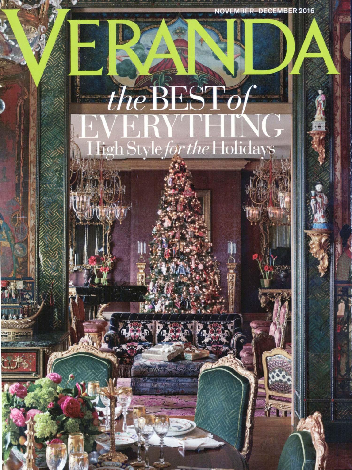 Veranda November-December 2016 DXV Design Panel 2016-2017 Charleston Classic