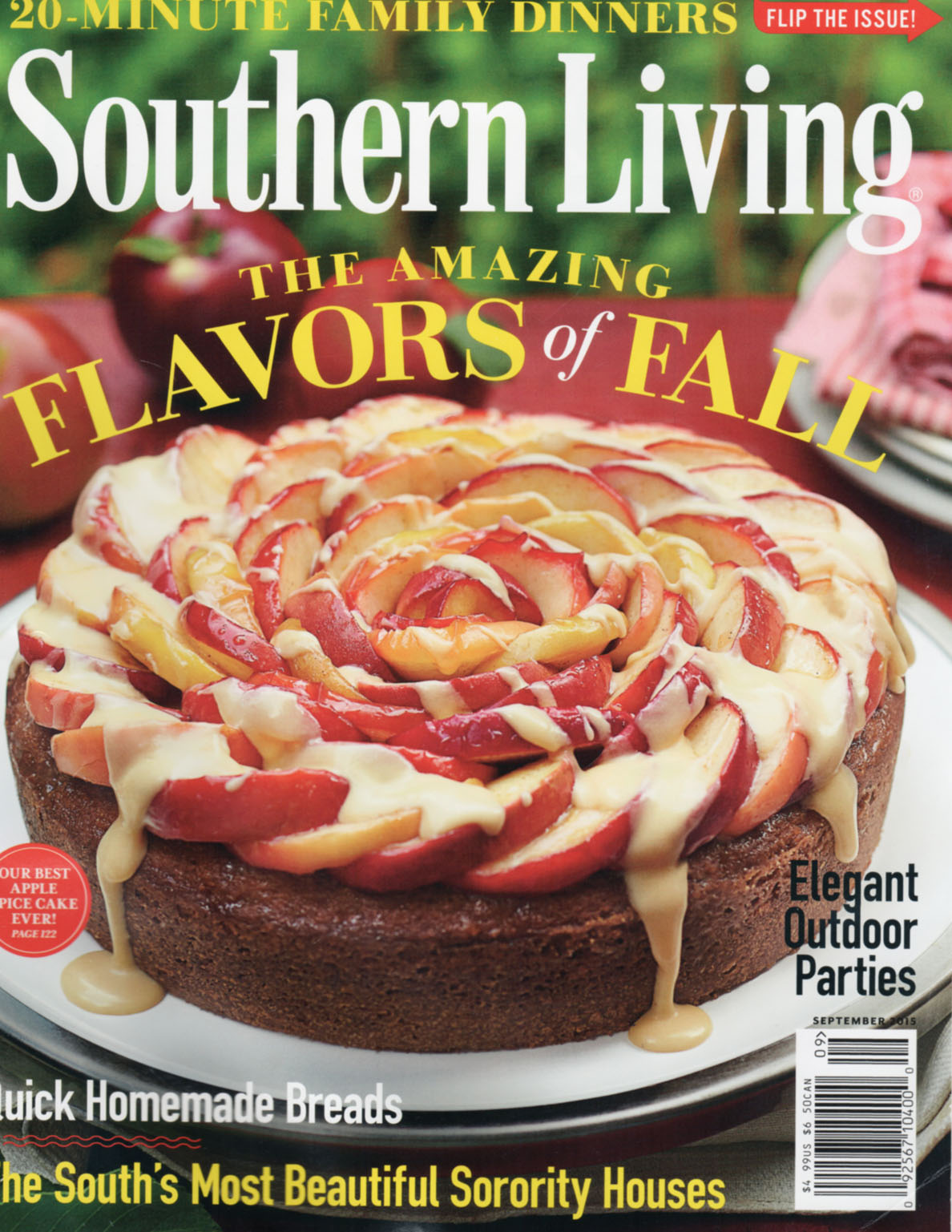 Southern Living September 2015