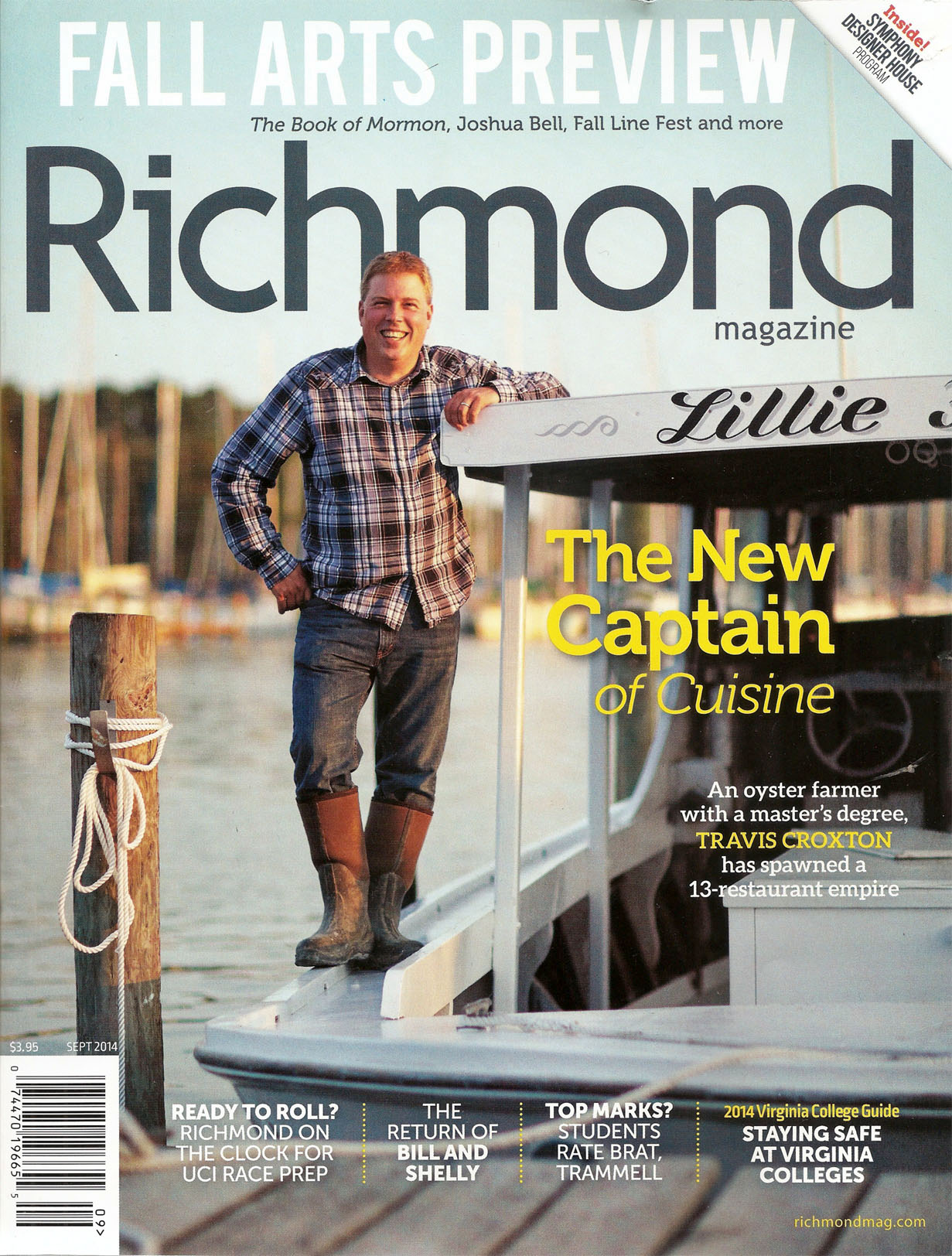 Richmond Magazine September 2014