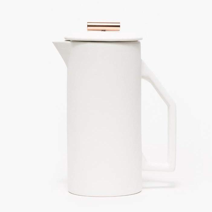 Yield Design Ceramic French Press, $120