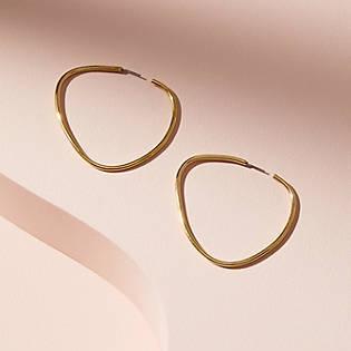 Soko Maxi Sabi Hoop Earrings, $58