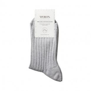 Woron Organic Cotton Socks, $20