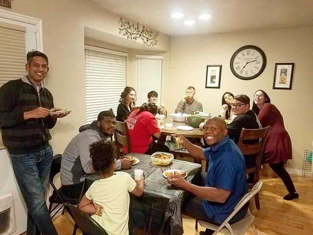 Rib night at the Shockley's, yummy! 😋  We love the Yo Pros! . . 📷 Val Shockley  #repost  #saltlakechristianchurch