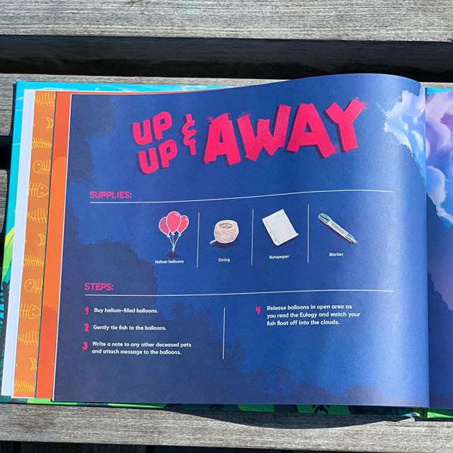 Step-by-step instructions, read-aloud eulogies and amazing illustrations. Get yours #oopsthefishdied book on amazon today! 🐠 . . . . #teacherlife #teachersofinstagram #kindergartenteacher #elementaryschool #bookstagram #bestkidsbooks #ellen #bestseller