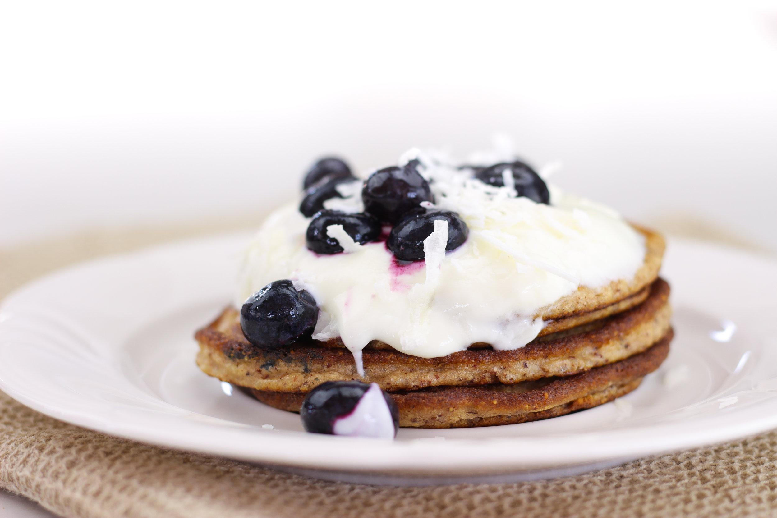 healthy paleo pancakes