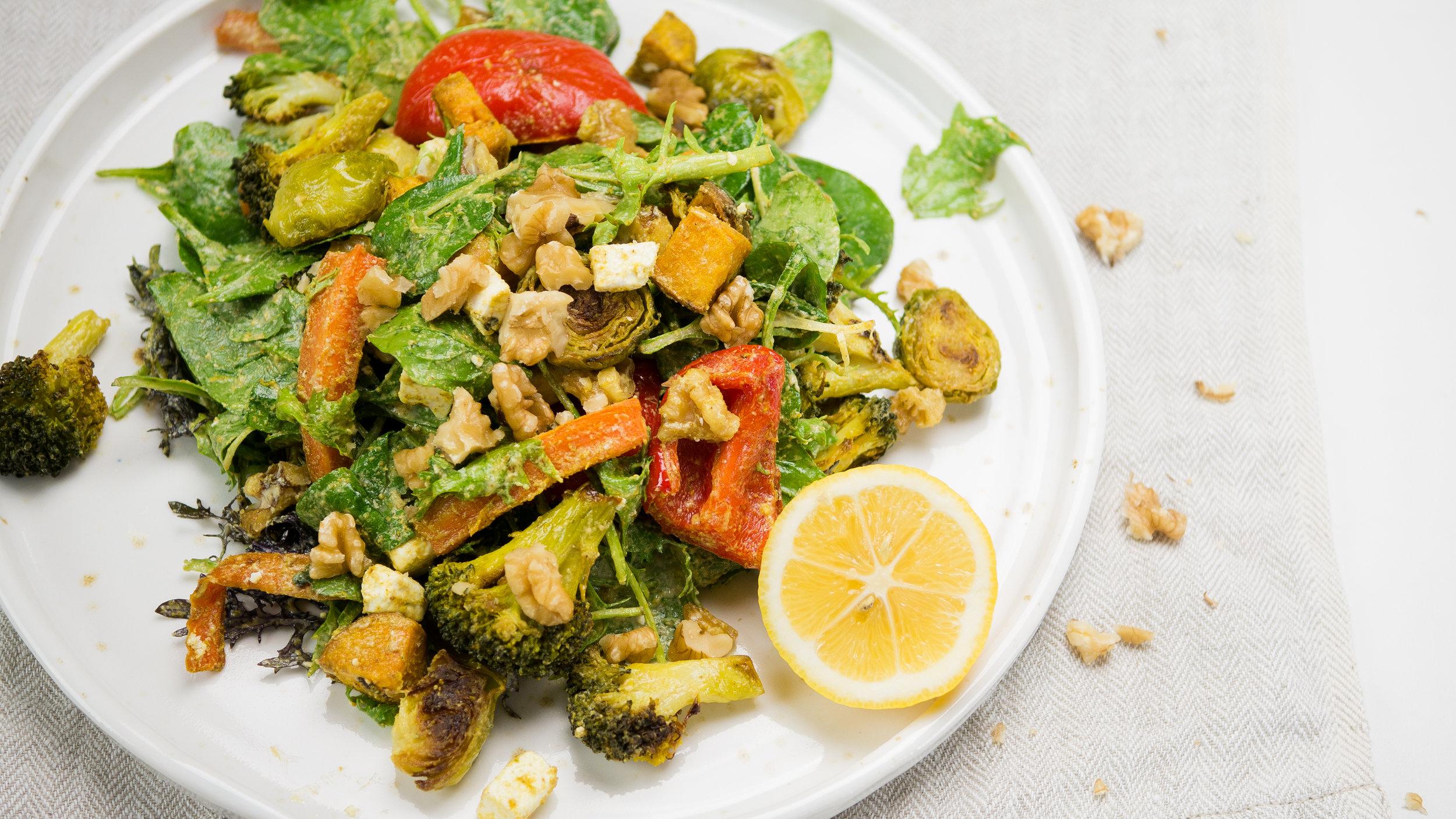 Easy Roast Vegetable Salad