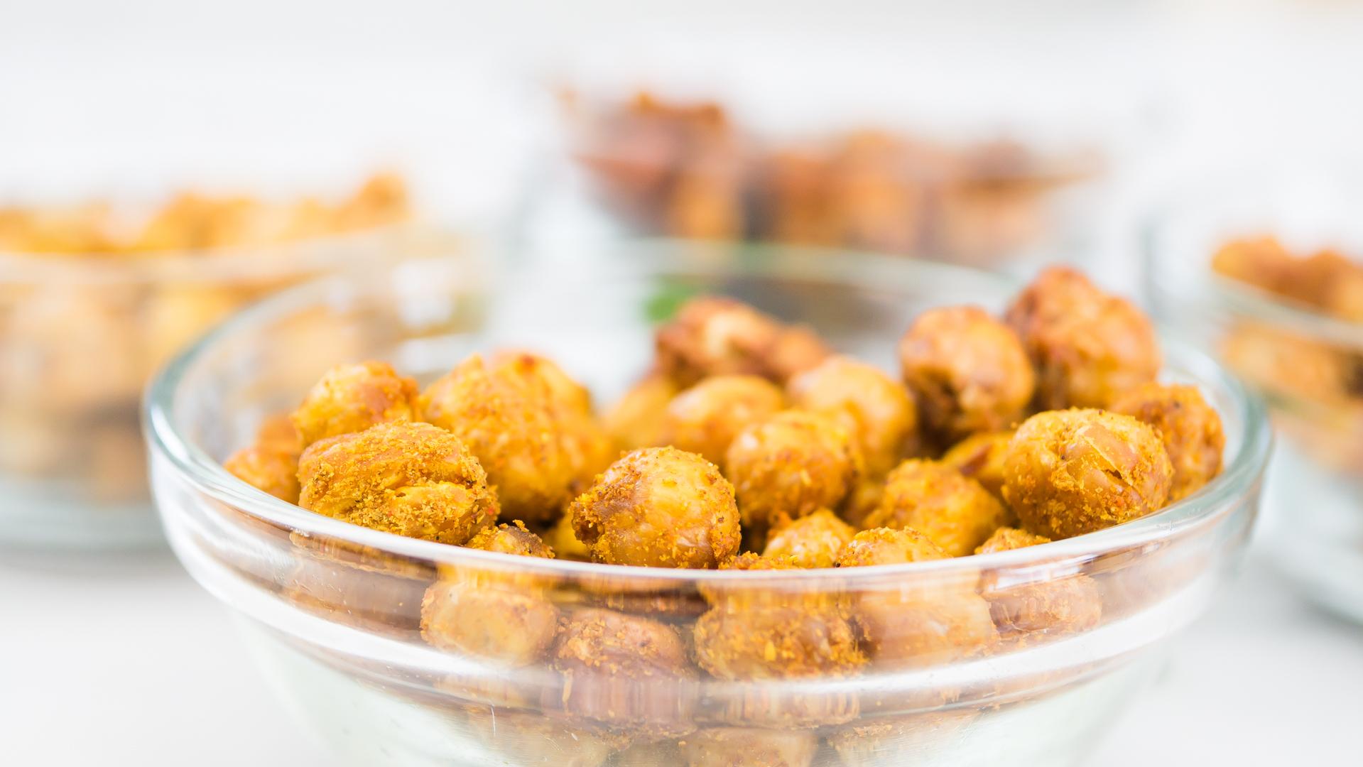 Roast Chickpeas 4 ways