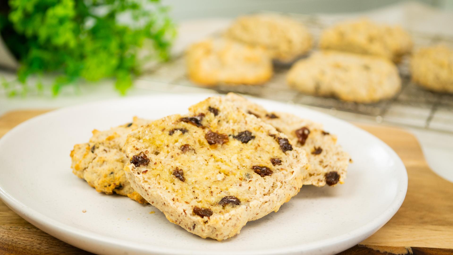 Homemade gluten free scones