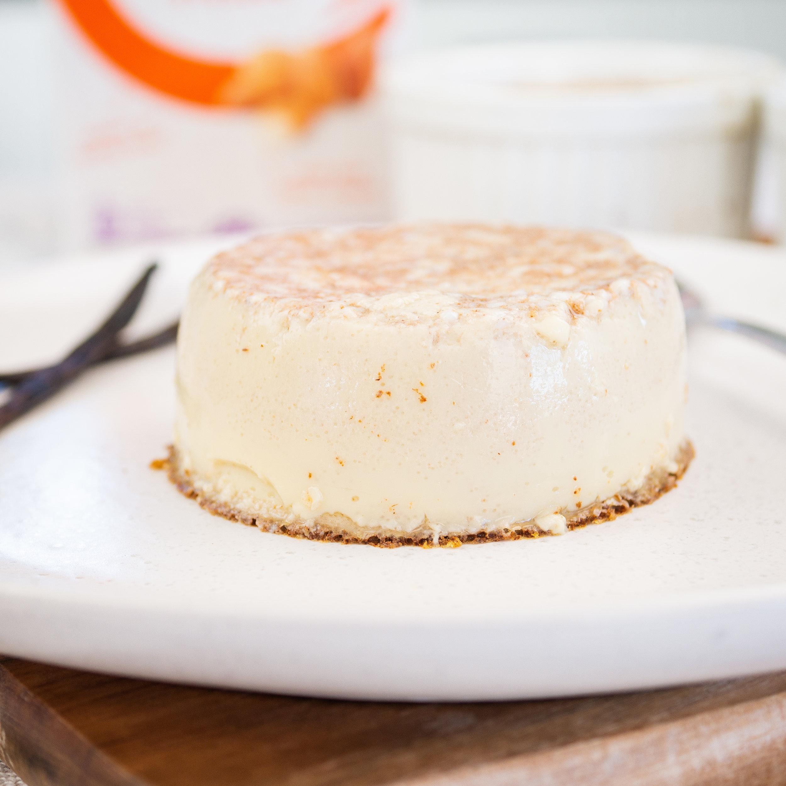 Vanilla & Cinnamon Baked Custard