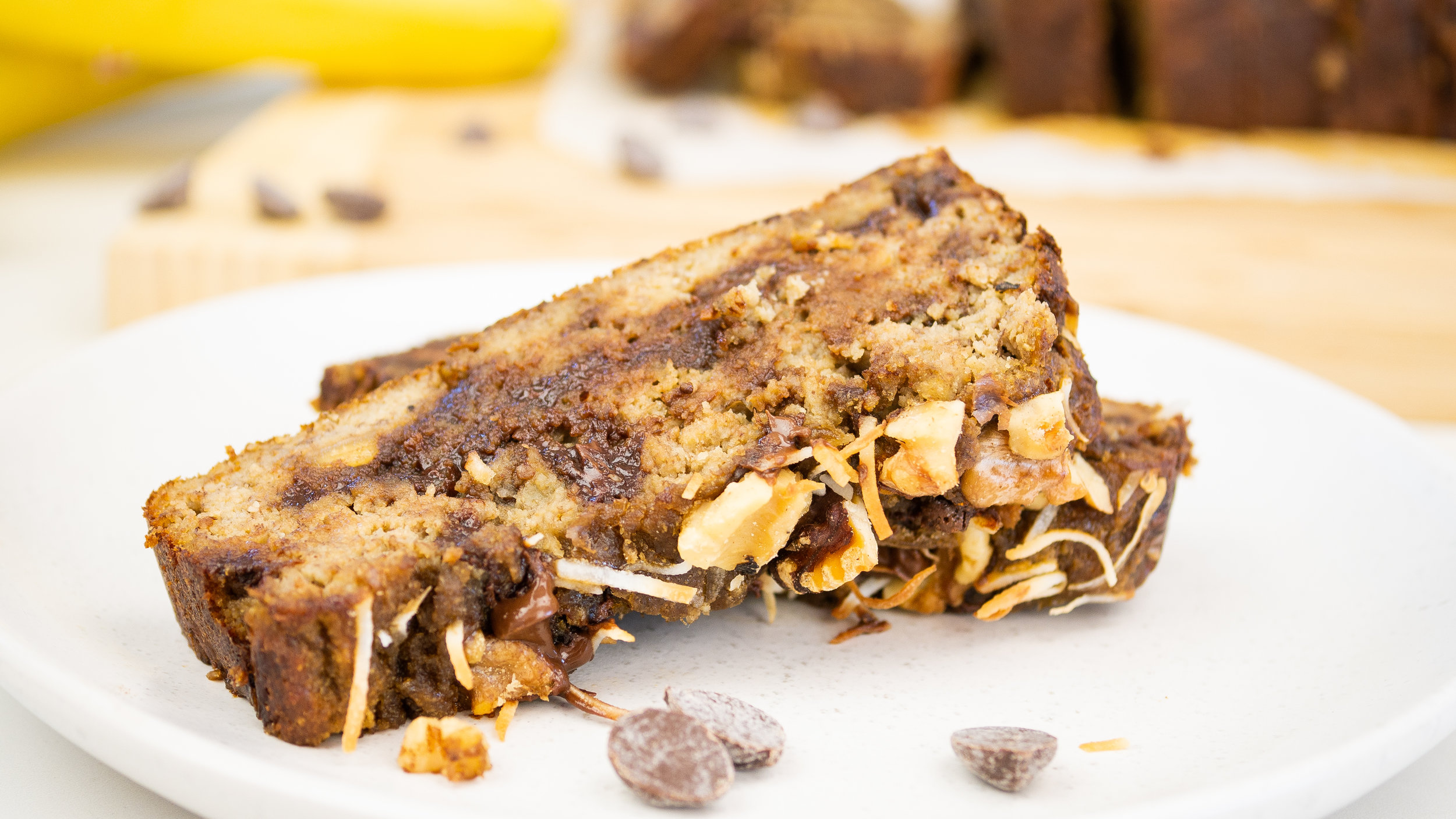 Chocolate Banana Loaf