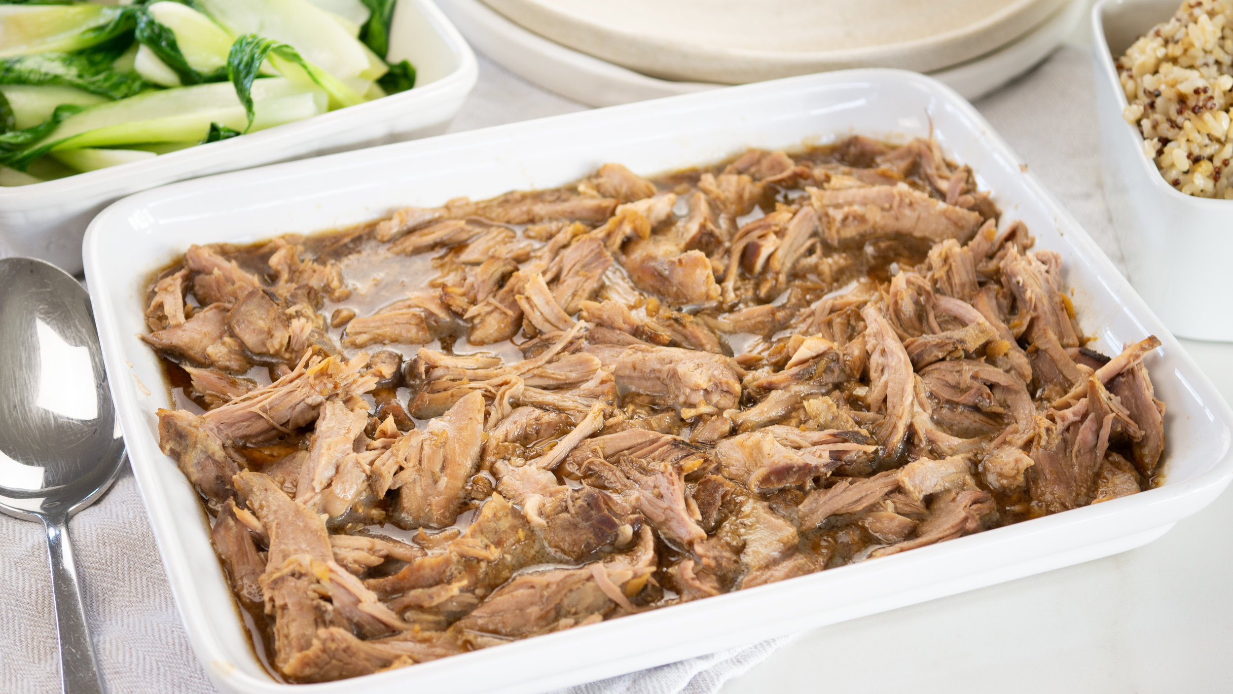 Slow Cooked Teriyaki Pulled Pork